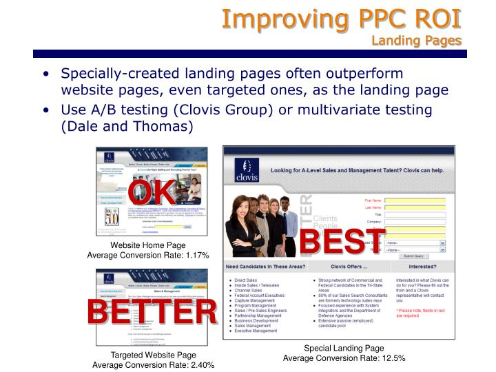 Improving PPC ROI