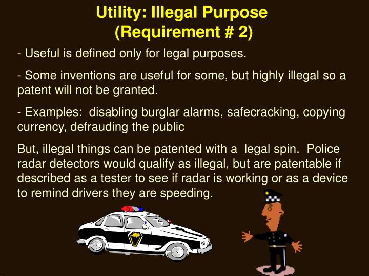 Utility: Illegal Purpose