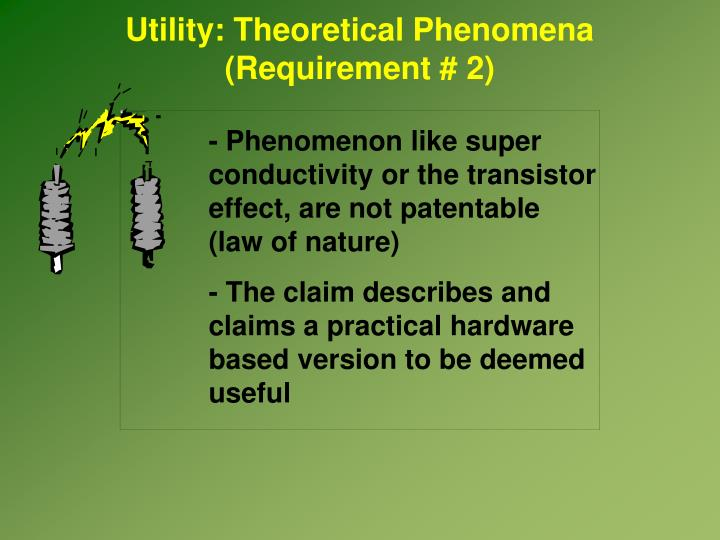 Utility: Theoretical Phenomena
