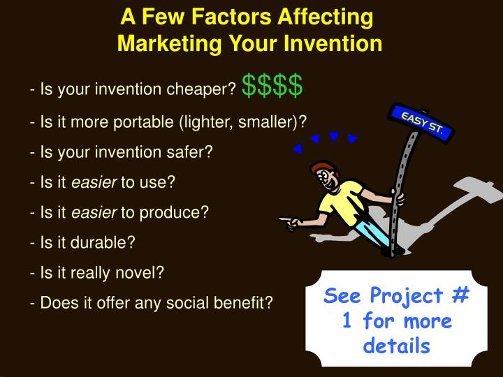 A Few Factors Affecting