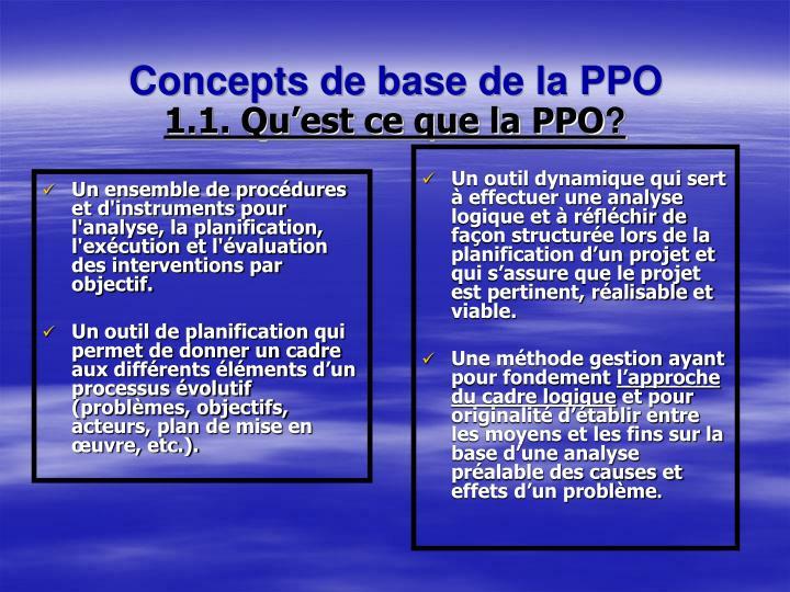 Un ensemble de procédures et d'instruments pour l'analyse, la planification, l'exécution et l'évaluation des interventions par objectif.