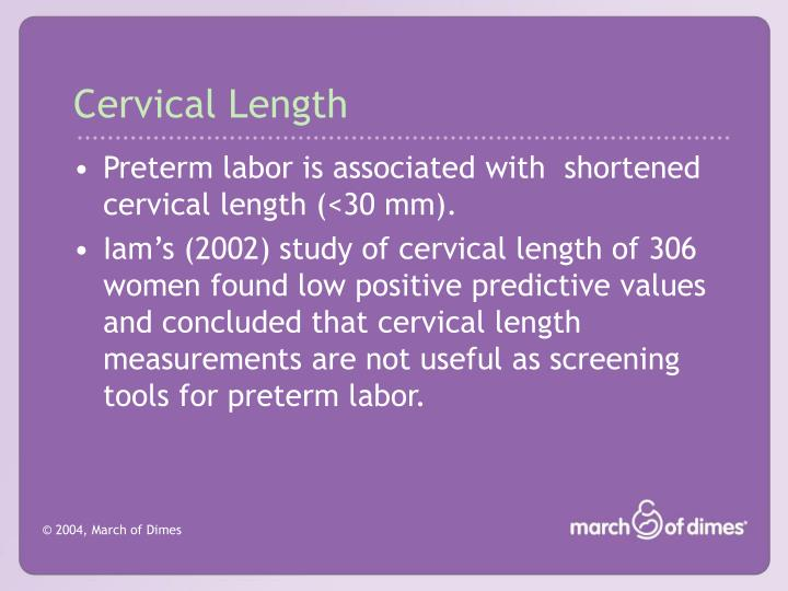 Cervical Length