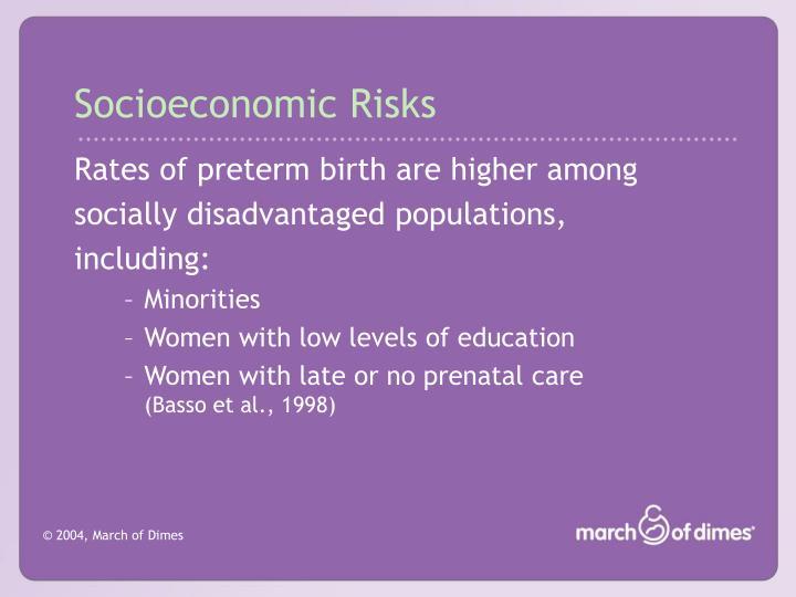 Socioeconomic