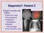 diagnosis patient c