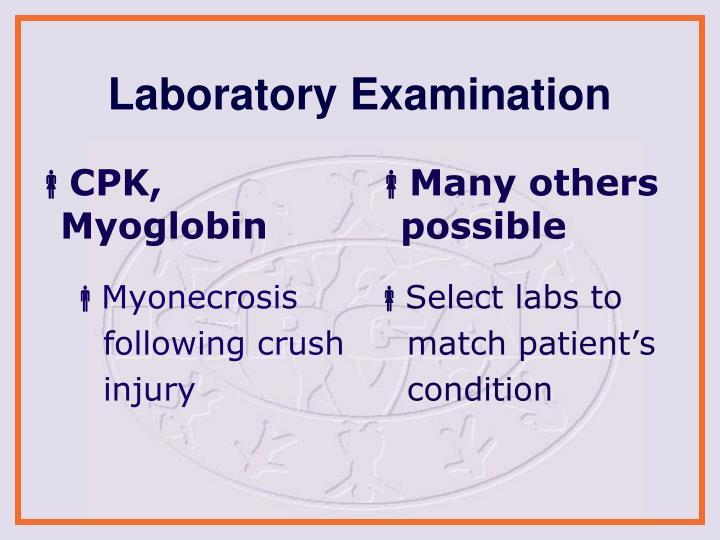 CPK, Myoglobin