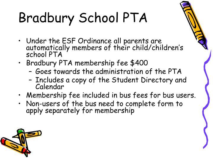 Bradbury School PTA