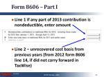 form 8606 part i2