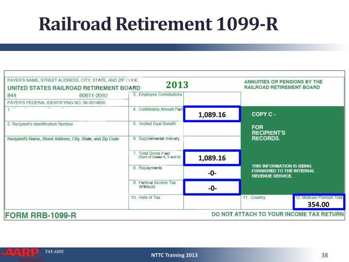 Railroad Retirement 1099-R