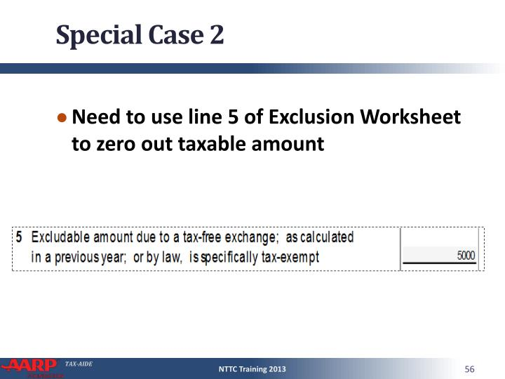 Special Case 2