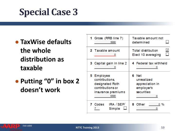 Special Case 3