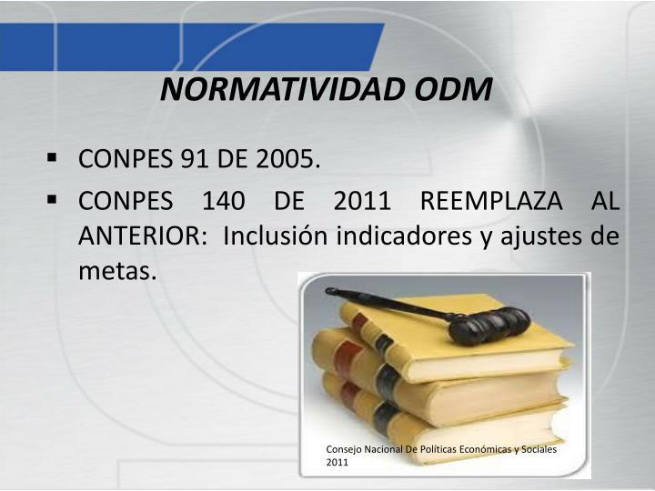 NORMATIVIDAD ODM