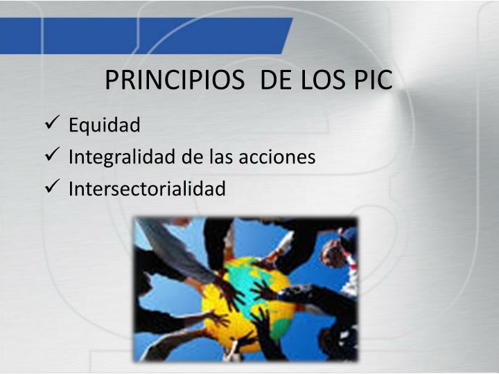 PRINCIPIOS  DE LOS PIC