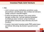 investasi pada joint venture1