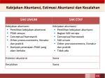 kebijakan akuntansi estimasi akuntansi dan kesalahan