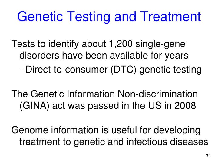 Genetic Testing and Treatment