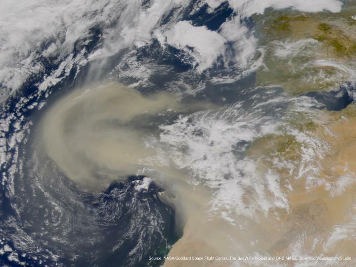 Dust Storms map Version 2