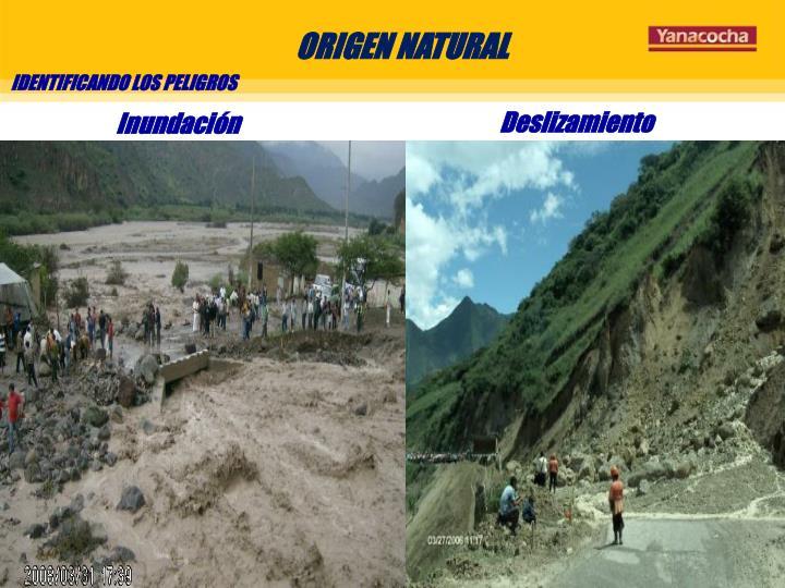 ORIGEN NATURAL