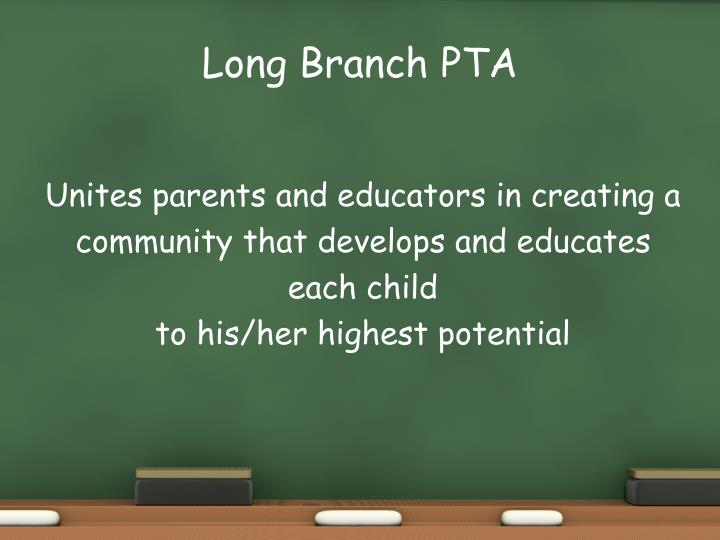 Long Branch PTA