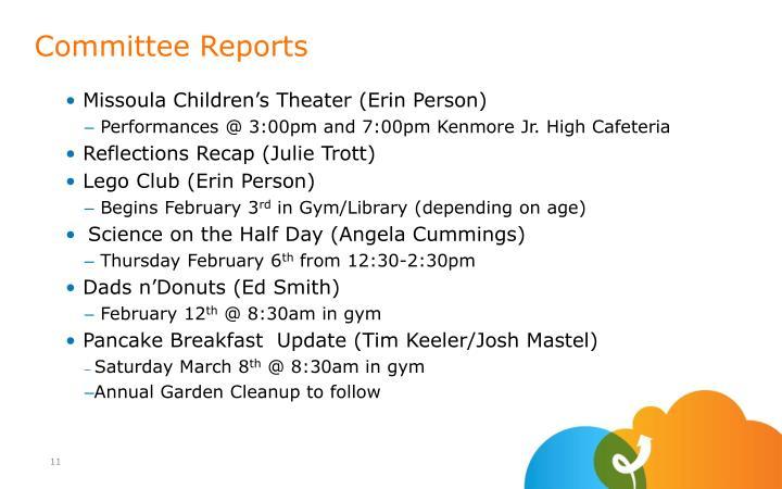 Missoula Children's Theater (Erin Person)