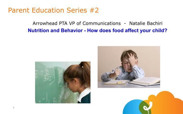 Arrowhead PTA VP of Communications  -  Natalie Bachiri