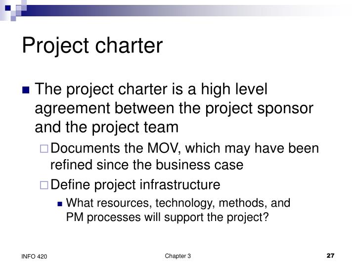 Project charter