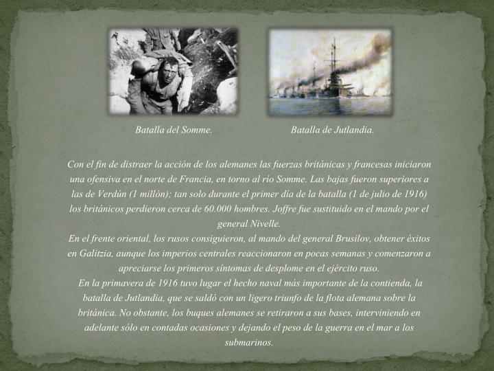 Batalla del Somme.