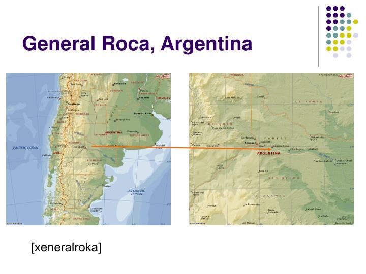 General Roca, Argentina