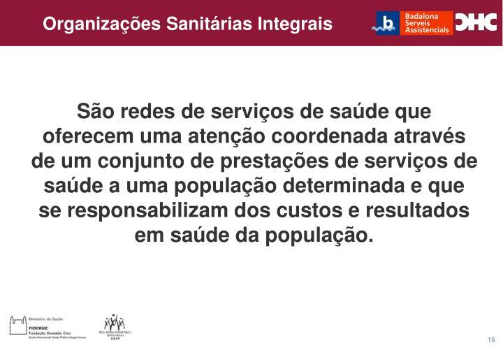 Organizações Sanitárias Integrais
