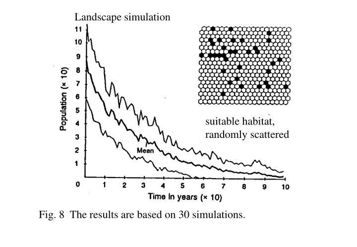 Landscape simulation