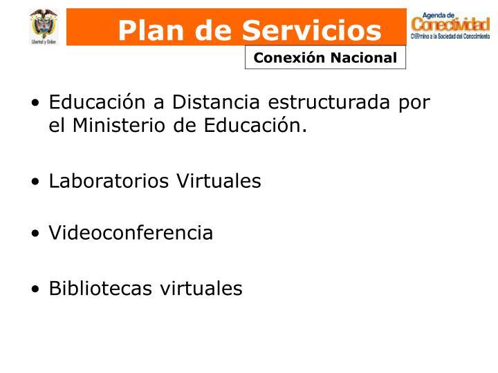 Plan de Servicios