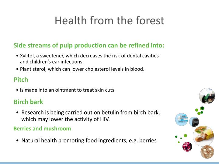 Health from the forest
