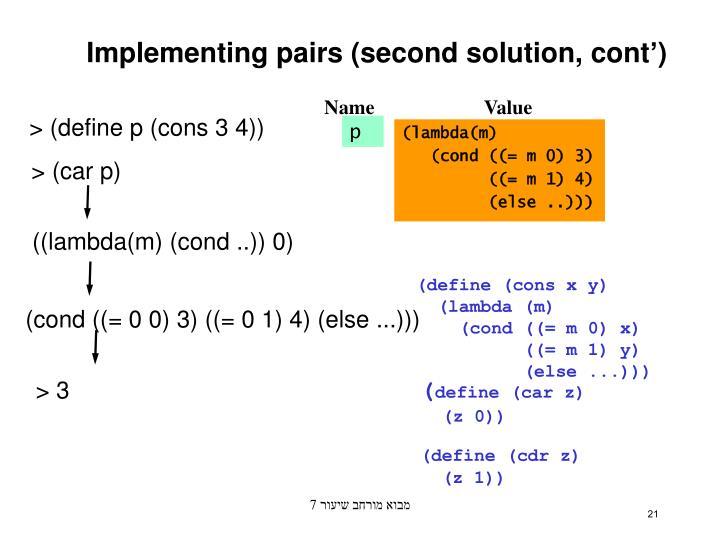 ((lambda(m) (cond ..)) 0)