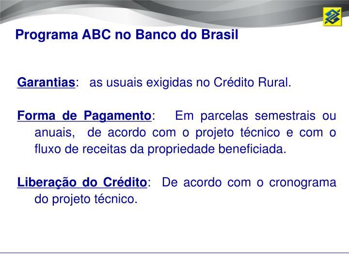 Programa ABC no Banco do Brasil