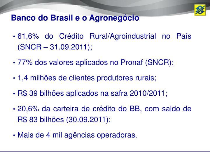 Banco do Brasil e o Agronegócio