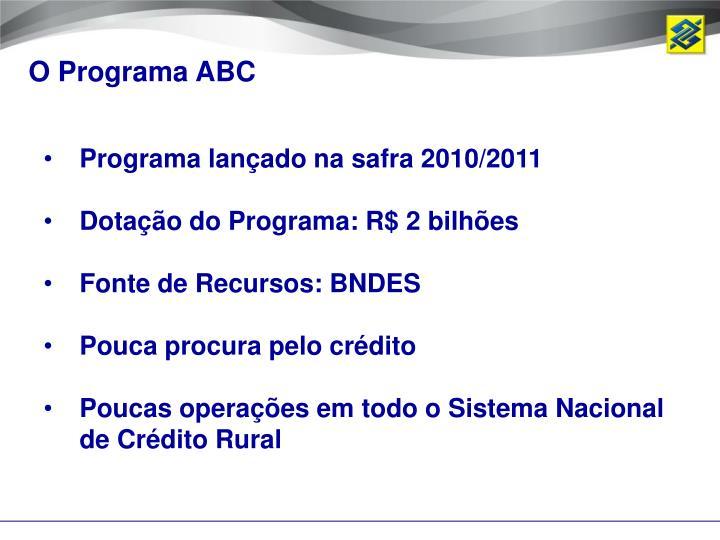O Programa ABC