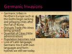 germanic invasions
