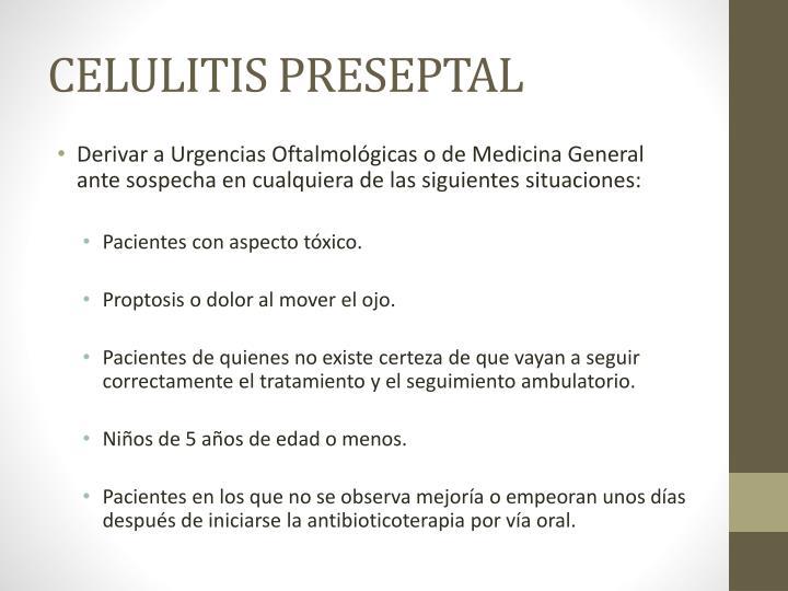 CELULITIS PRESEPTAL