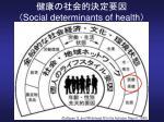 social determinants of health1