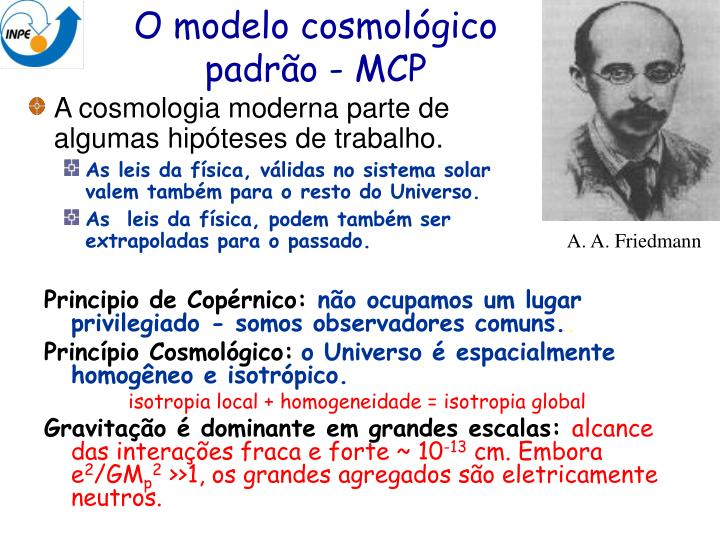 A. A. Friedmann