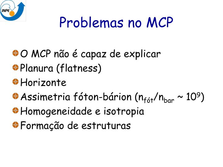Problemas no MCP