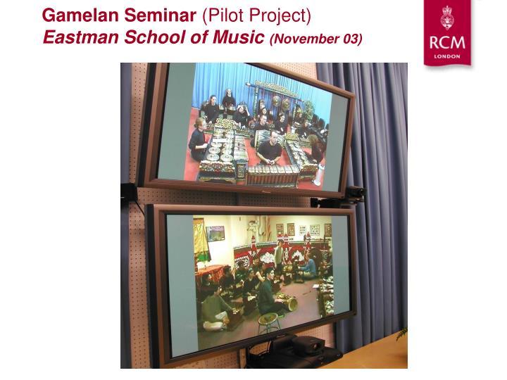 Gamelan Seminar