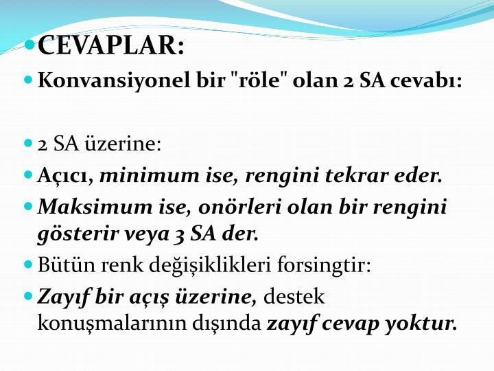 CEVAPLAR: