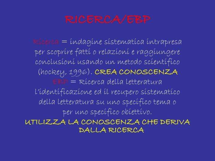 RICERCA/EBP