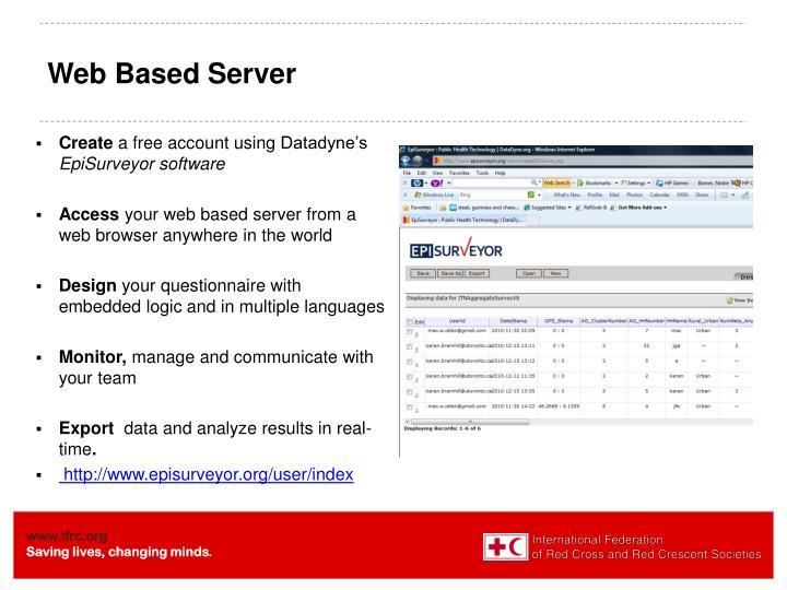Web Based Server