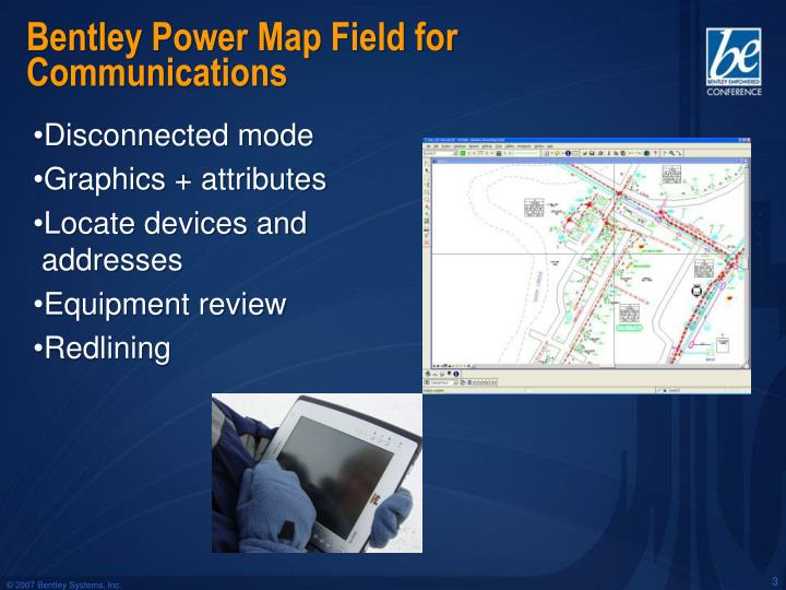 Bentley power map field for communications1