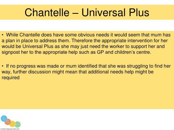 Chantelle – Universal Plus