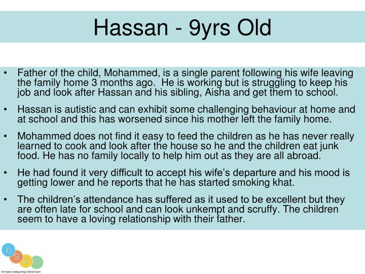 Hassan - 9yrs Old