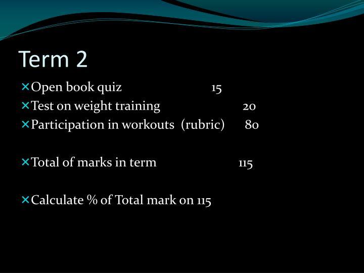 Term 2