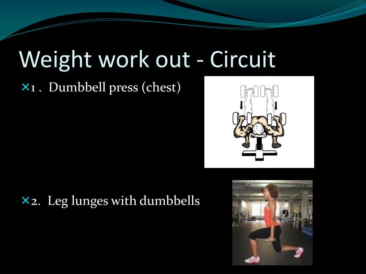 Weight work out - Circuit