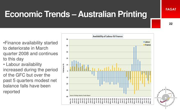 Economic Trends – Australian Printing